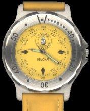 montre beuchat bracelet cuir